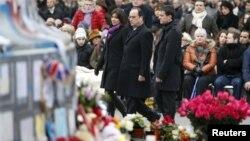 Ֆրանսիա - Արարողությունը Փարիզի Հանրապետության հրապարակում, 10-ը հունվարի, 2016թ․
