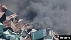 Пожар в порту Тяньцзинь, Китай