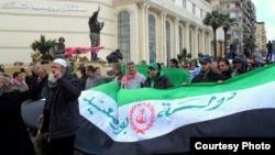 """محتجون في بورسعيد يعلنون مدينتهم """"دولة مستقلة"""""""