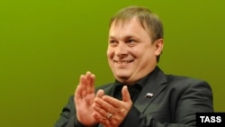 Andrei Razin, United Russia's new point man on orphans.