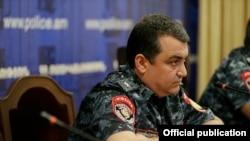 Бывший начальник управления полиции Еревана Ашот Карапетян (архив)