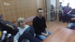 Первое интервью Навального после задержания