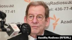 Посол США в Азербайджане Ричард Морнингстар. Баку, 16 октября 2012