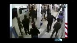 تصاویری از حمله عده ای با قمه و قداره به دو بیمارستان در اردبیل
