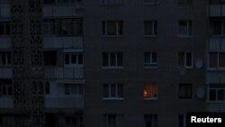 Житловий будинок у Сімферополі. 24 листопада 2015 року