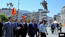 Државниот врв на одбележување на 8 Септември - Денот на независноста на Република Македонија.