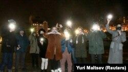 روسیه کې د الکسي ناوالنۍ د پلویانو په نوې بڼه اعتراض