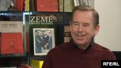 Вацлав Гавел в 2009 году во время интервью Радио Свобода/Свободная Европа