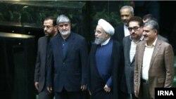 حسن روحانی ساعت هشت صبح وارد مجلس شد