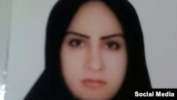 Iran -- Zeinab Sekaanvand was convicted of killing her abusive husband, undated
