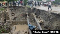 سیلاب در تاجیکستان
