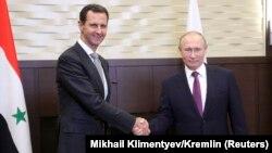 Путин Сириянын президенти Башар Асад менен, 20-ноябрь, 2017-жыл.