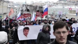 Moscow March Commemorates Slain Kremlin Critic
