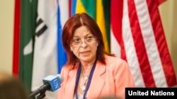 Марія Крістіна Персеваль, чинний президент Ради безпеки