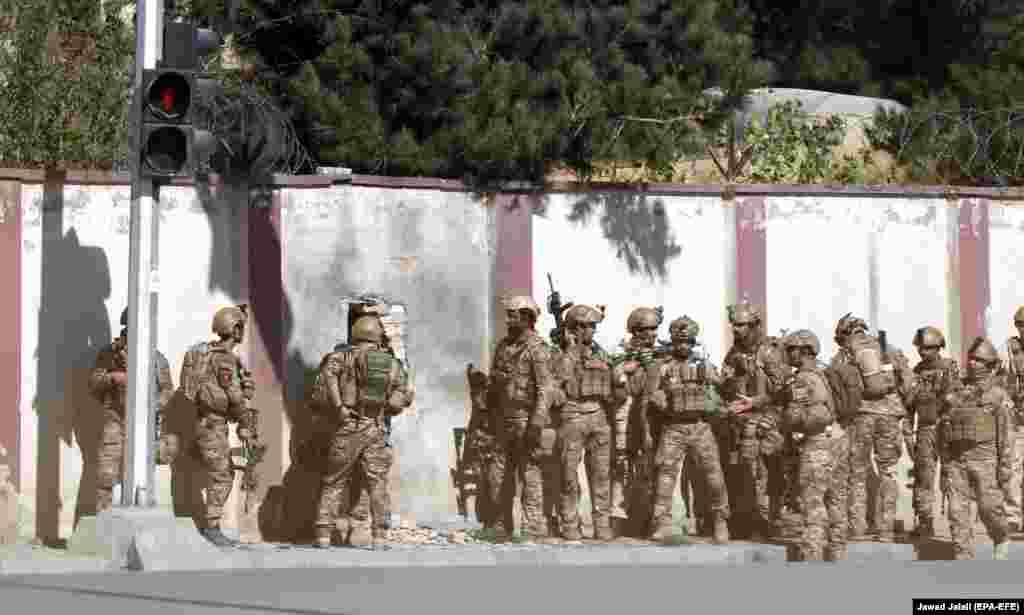 نیروهای خاص افغان