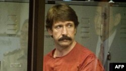 Viktor Bout in a court in Bangkok in October 2011