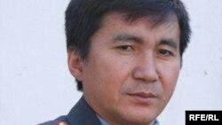 Бишкек шаардык Ички иштер башкармалыгынын басма сөз катчысы Бакыт Сеитов.