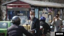 Фотграфія з вулиць іранської столиці Тегерана