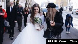 Anna Pavlikova married her fellow activist in jail.