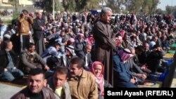 جمعة موحدة مضادة على الحكومة في ديالى