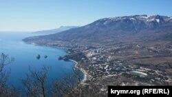 Вид на Гурзуф, Крим