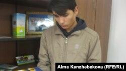 Балалар үйінің түлегі Нұрлан Исатаев. Алматы, 10 желтоқсан 2013 ж.