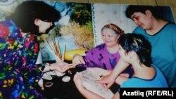 Оренбур музеенда Шәфиковларның мамык шәлләре күрсәтелде