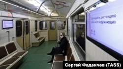 Many subway workers were fired after joining pro-Navalny protests online.