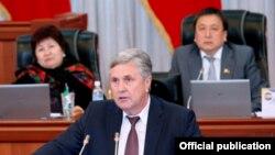 Валерий Диль парламентте