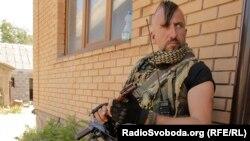 Василь Слипак в зоне АТО в Донбассе