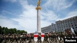 დამოუკიდებლობის დღე, თავისუფლების მოედანი
