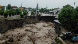 Сход селевого потока в Кулябе, 11 мая 2021 года