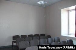Одно из трех небольших помещений регионального Центра Свидетелей Иеговы, которое на день проверки, 5 июня 2017 года, не было оснащено камерой видеонаблюдения. Алматы, 6 июля 2017 года.