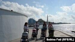 Sevastopol, Crimeea: Pe faleză