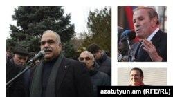 Րաֆֆի Հովհաննիսյան, Լևոն Տեր-Պետրոսյան, Գագիկ Ծառուկյան
