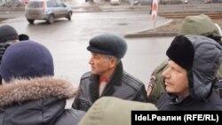 Задержание Марселя Шамсутдинова 26 марта 2017 года