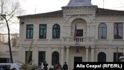 Actualul sediu al Ambasadei SUA la Chișinău