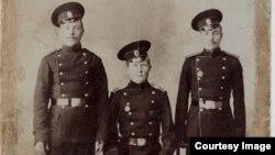 20-шы Түркістан полкының әскери қызметшілері. Шамамен 1912-1914 жылы түсірілген фото.