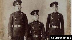 Нижние чины 20-го Туркестанского стрелкового полка. Фото примерно 1912–1914 годов.