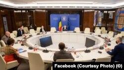 România- Întâlnirea premierului Florin Cîțu cu Organizația Patronală a Hotelurilor și Restaurantelor din România