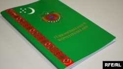 Türkmenistanyň Konstitusiýasy.