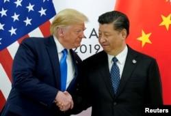 Trump dhe Xi gjatë samitit në Osaka të Japonisë.
