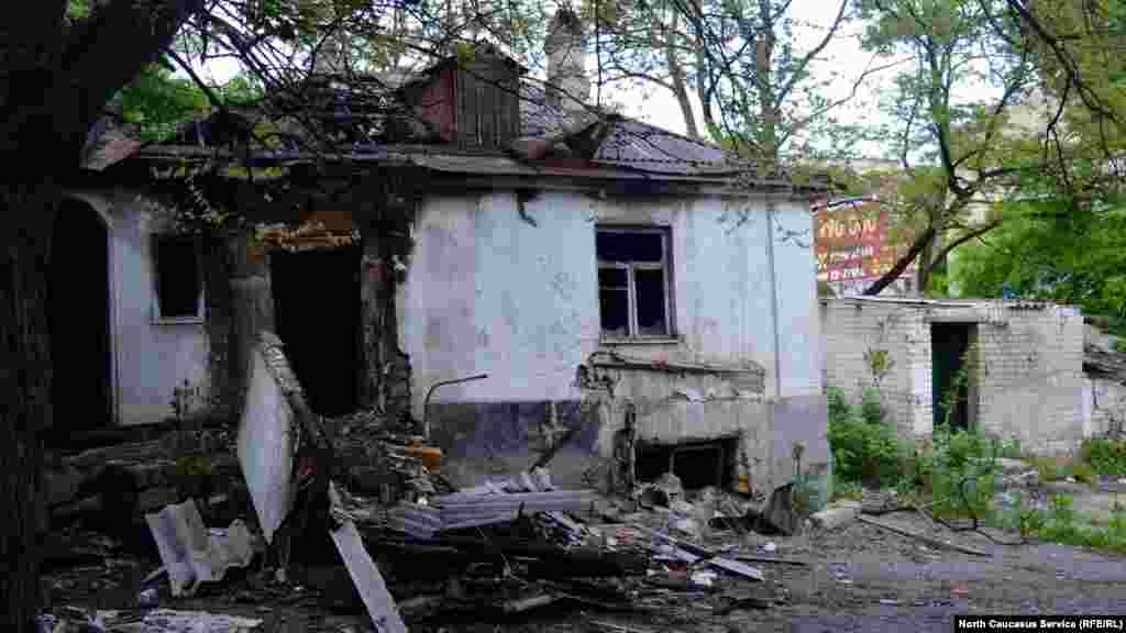 Ставрополь қалалық мэриясынан жаяу небары он минут жүрсеңіз осындай көріністің куәсі боласыз.