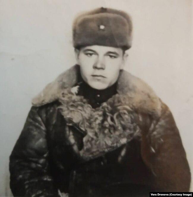 Никифор Дронов – солдат советской армии. Забайкальский военный округ, 1946 год. До ареста остался 1 год