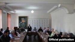 Заседание Общественной палаты Чечни (архивное фото)