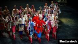 Виступ Державного академічного ансамблю народного танцю України імені Павла Вірського, грудень 2017 року