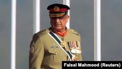 د پاکستان د پوځ مشر جنرال قمر جاوید باجوه.