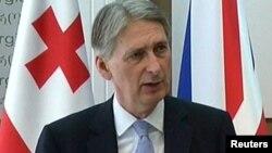 Министр иностранных дел Великобритании Филип Хэммонд.