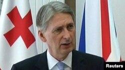 Ұлыбритания сыртқы істер министрі Филип Хэммонд.