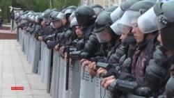 «Бойкот!», «Бостандык!». День голосования в Нур-Султане